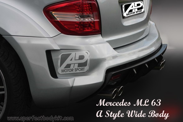 Mercedes ML 63 A Style Wide Body