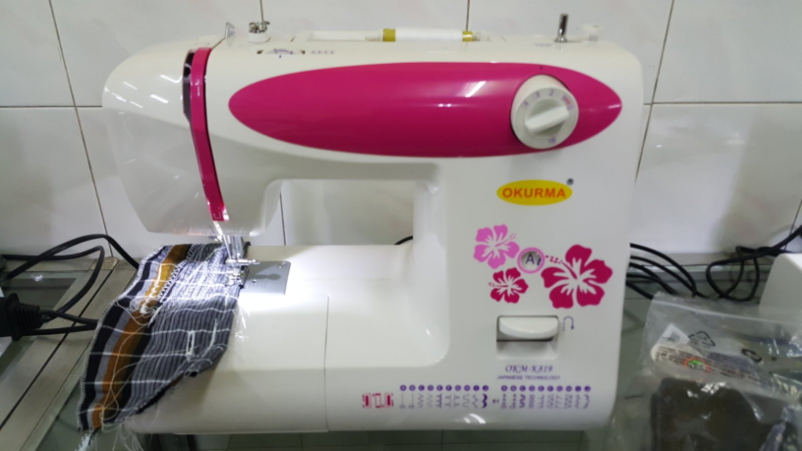 New Set Okurma Portable Zie Zig Sewing Machine