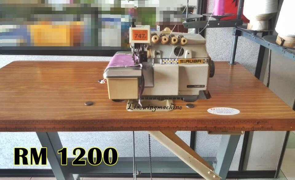 User Siruba Overlock Sewing Machine