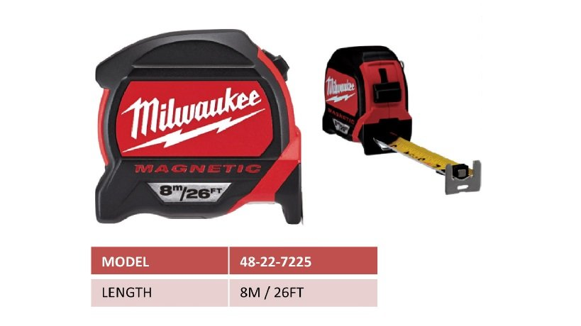 48-22-7225  Compact Tape Measure