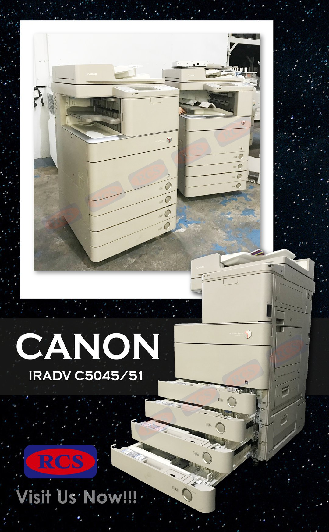 CANON IRADVC5045/5051!! FUJI XEROX/RICOH/MINOLTA RECONDITIONED COPIER WHOLESALE