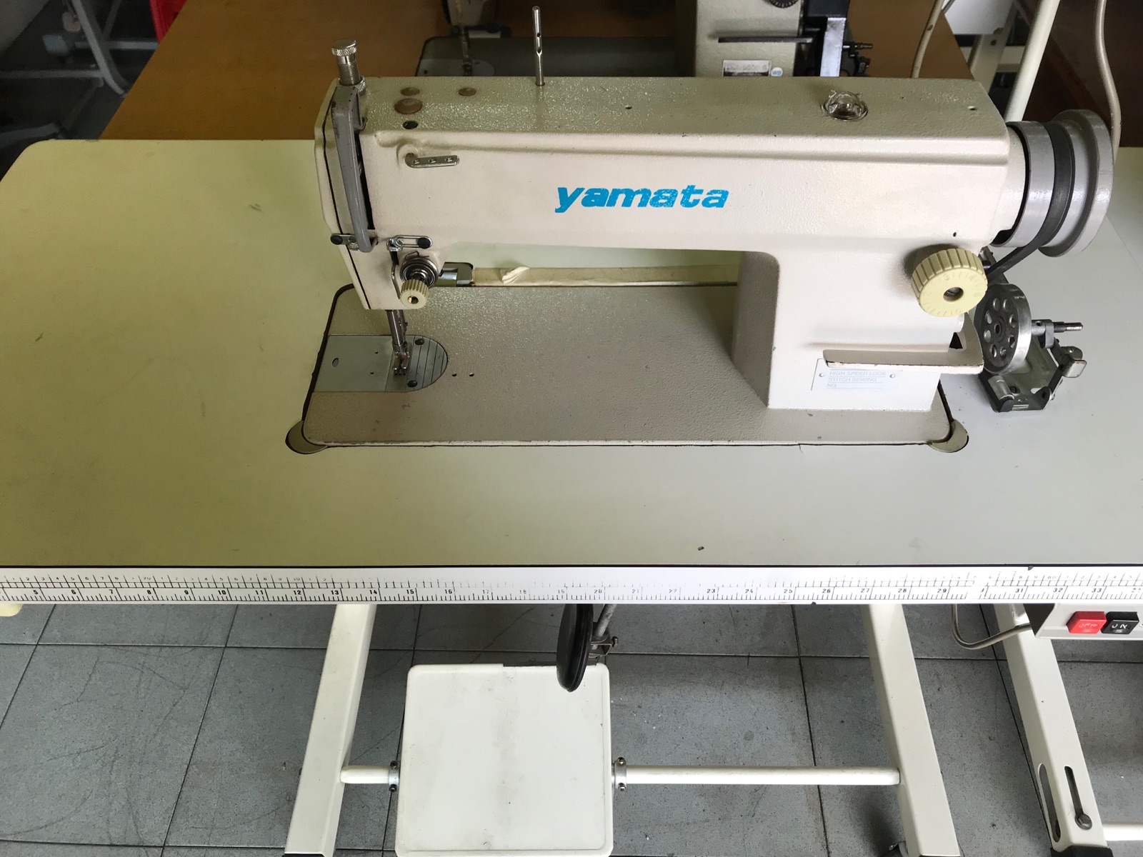 2nd Yamata Hi Speed Sewing Machine