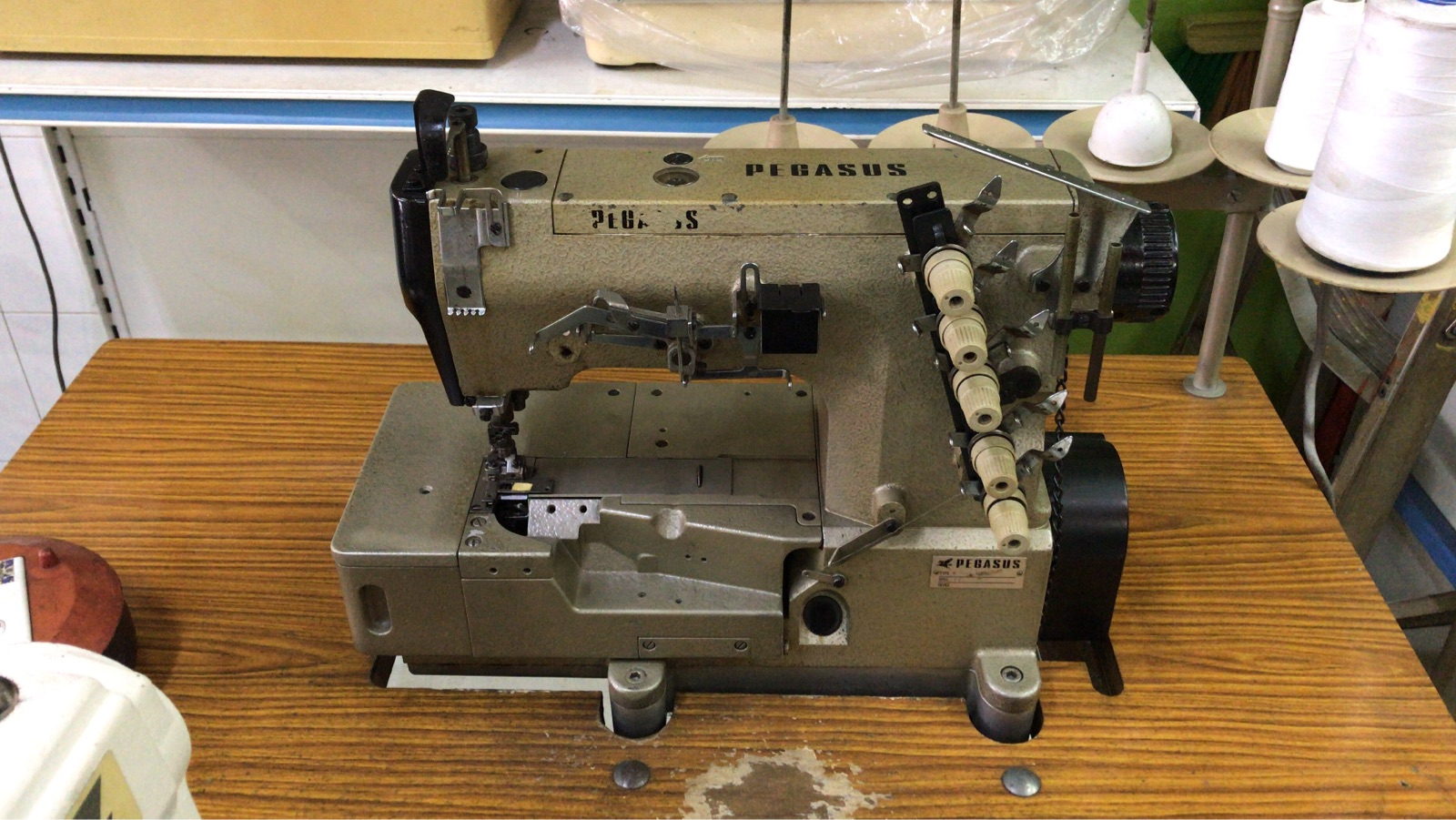 Second Hand Pegasus Interlock Coverstitch Machine