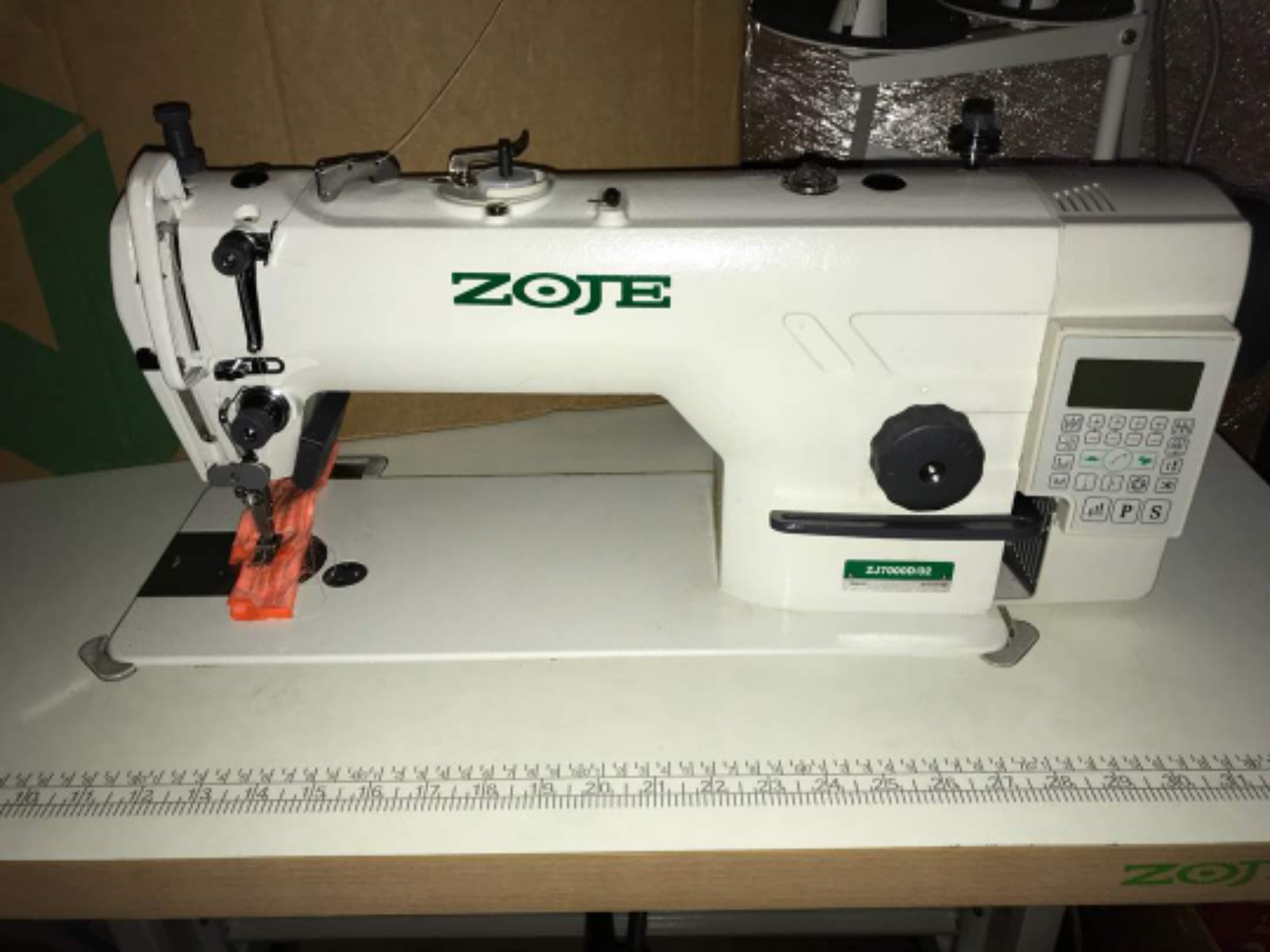 New  Zoje Hi Speed Sewing Machine
