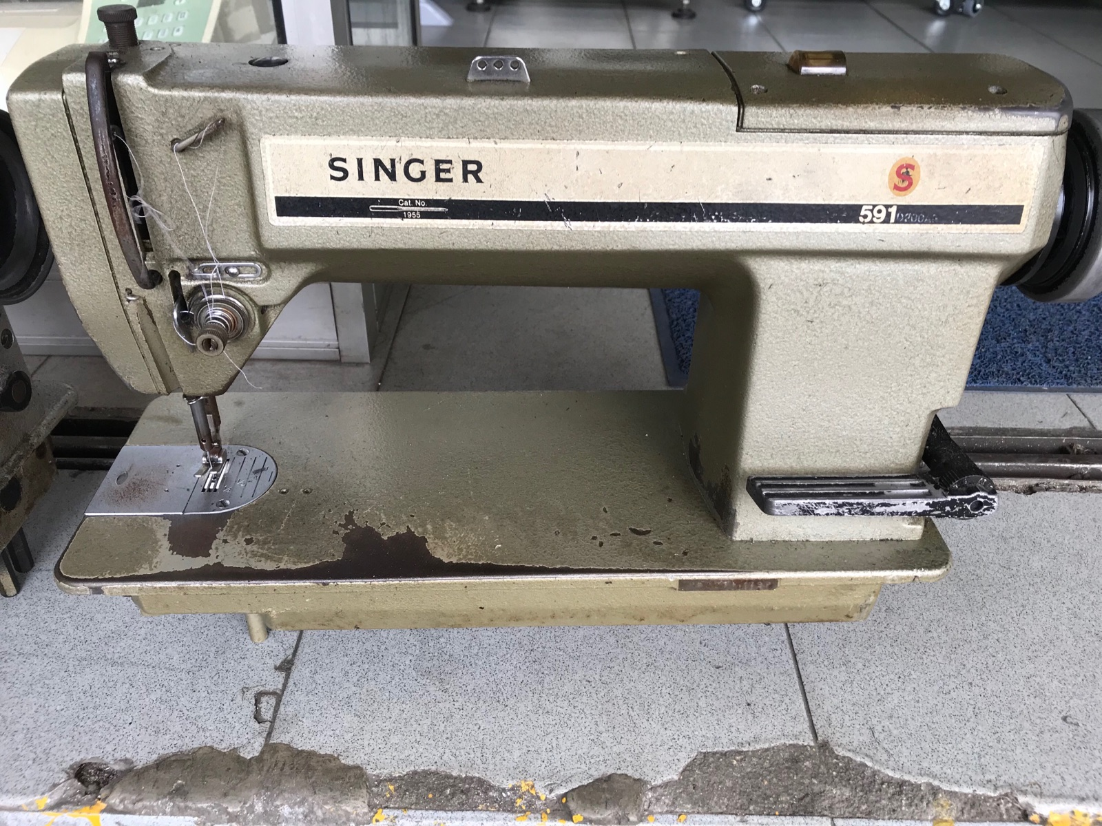 Repair Singer Hi Speed Sewing Machine