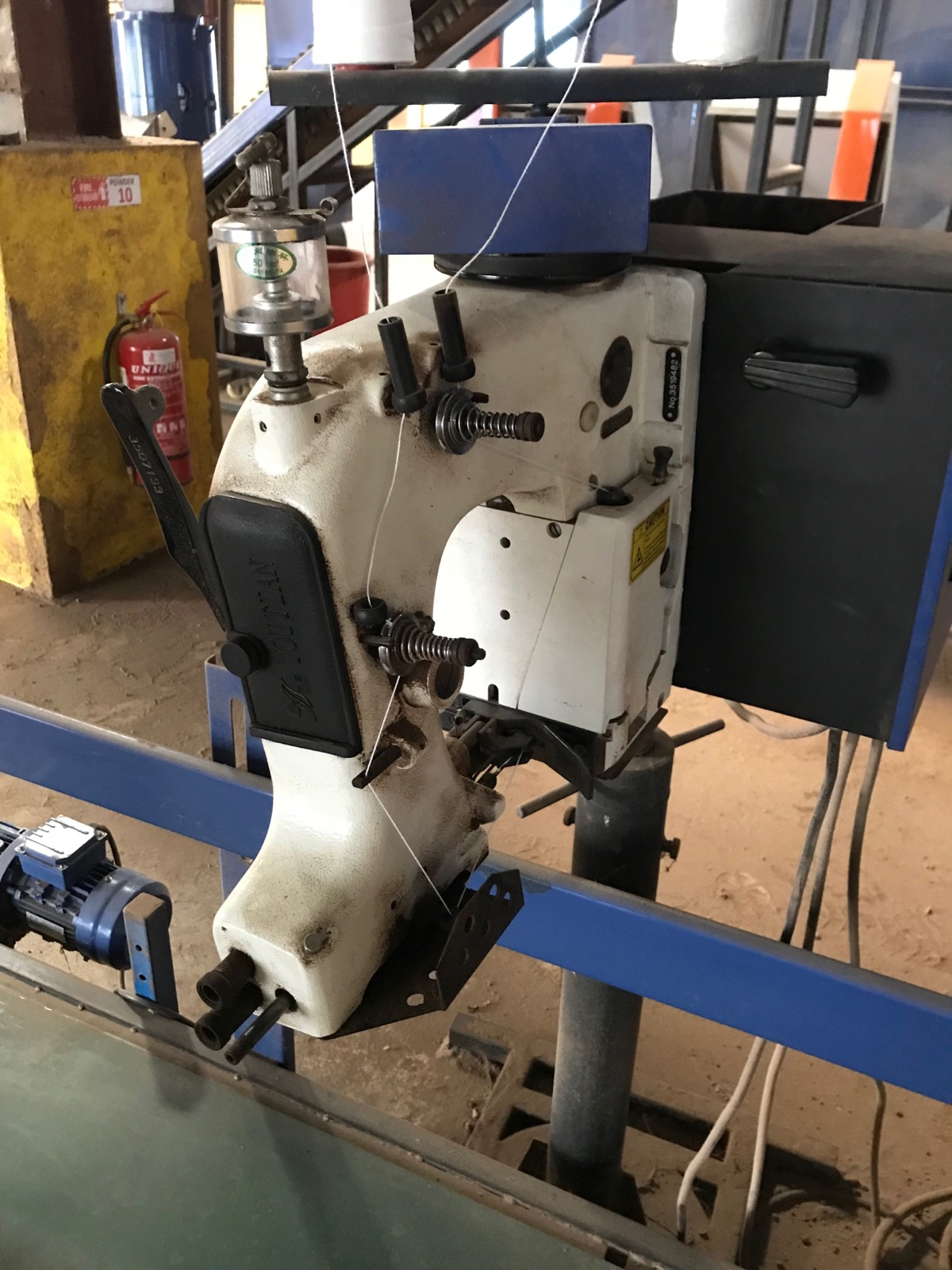 Sevis And Repair Bag Closing Machine
