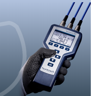 Handheld Flowtherm NT - In combination with Flow sensors FA,