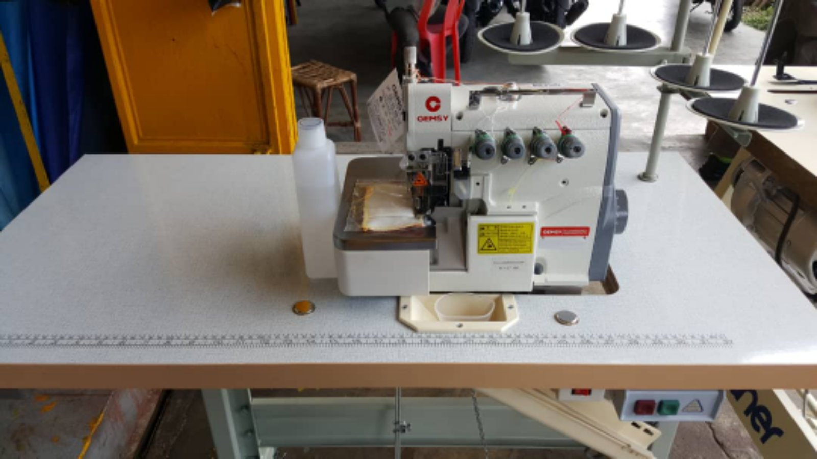 New Gemsy Overlock Sewing Machine