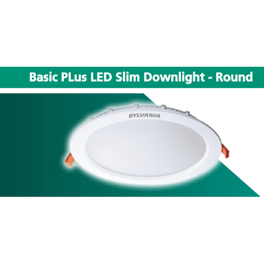 SYLVANIA Basic PLus LED Slim Downlight - Round