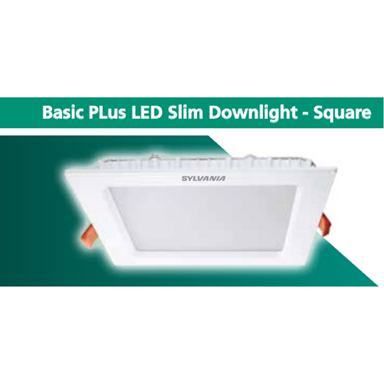 SYLVAND Slim Downlight - SquarIA Basic PLus LEe