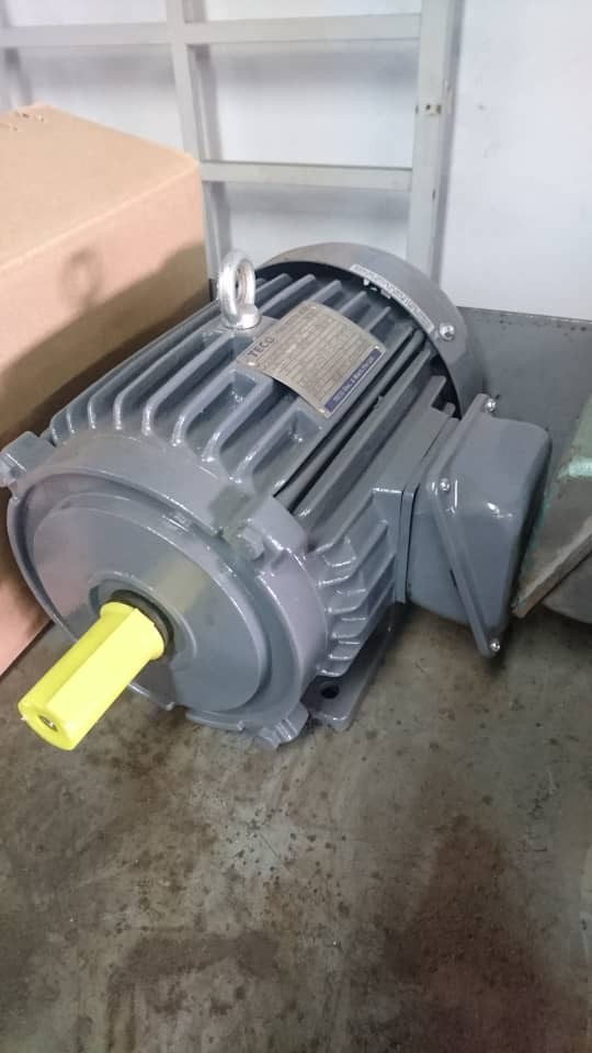 Teco 1 - 100hp three phase B3 foot mounted induction motor