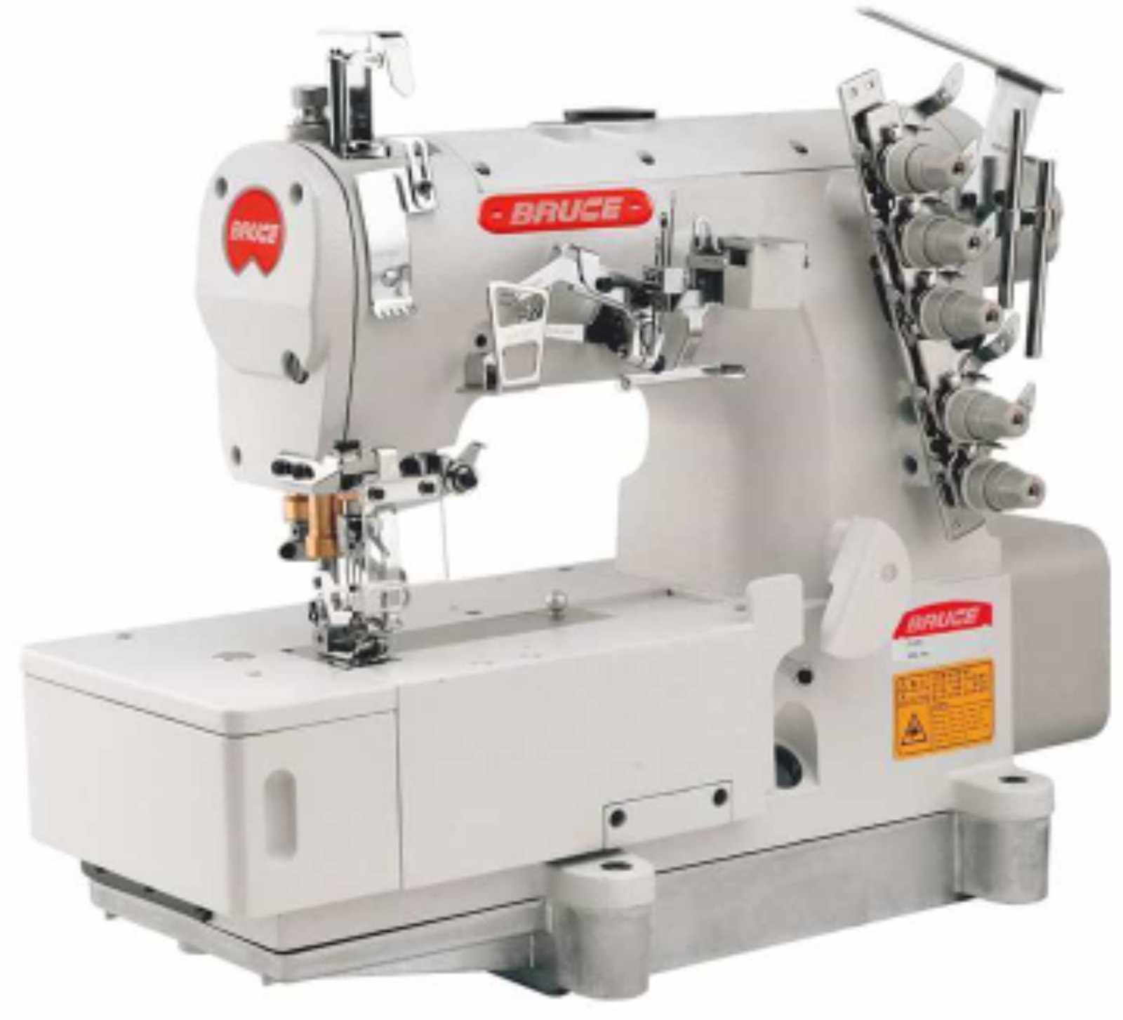 Bruce Interlock coverstitch Machine