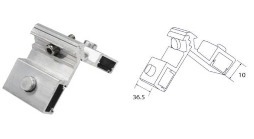 MB-5016 Outer Corner Bracket
