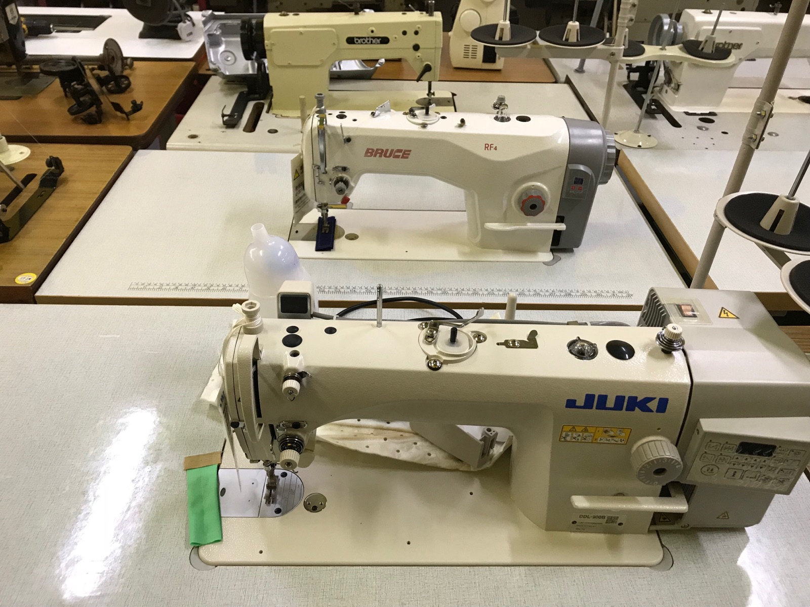 New Juki And Bruce Hi Speed Sewing Machine