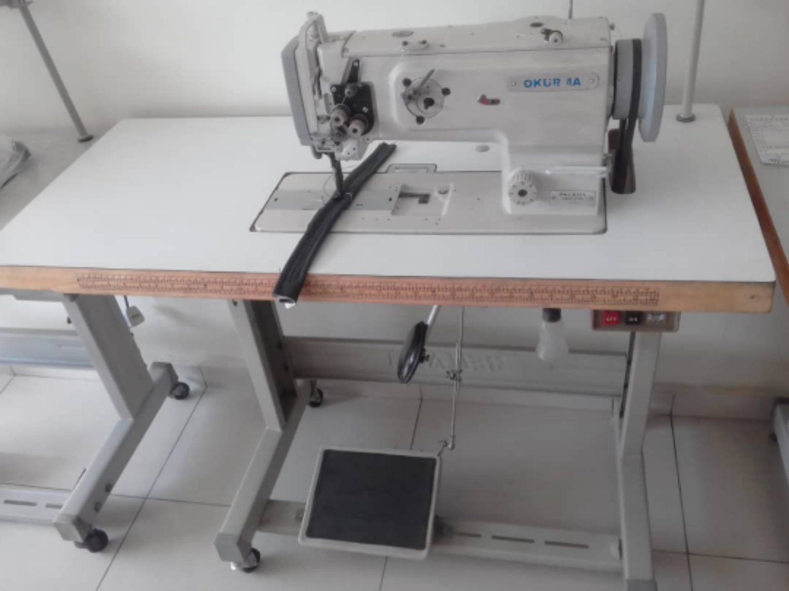 Second Hand Okurma Sewing Sofa Machine