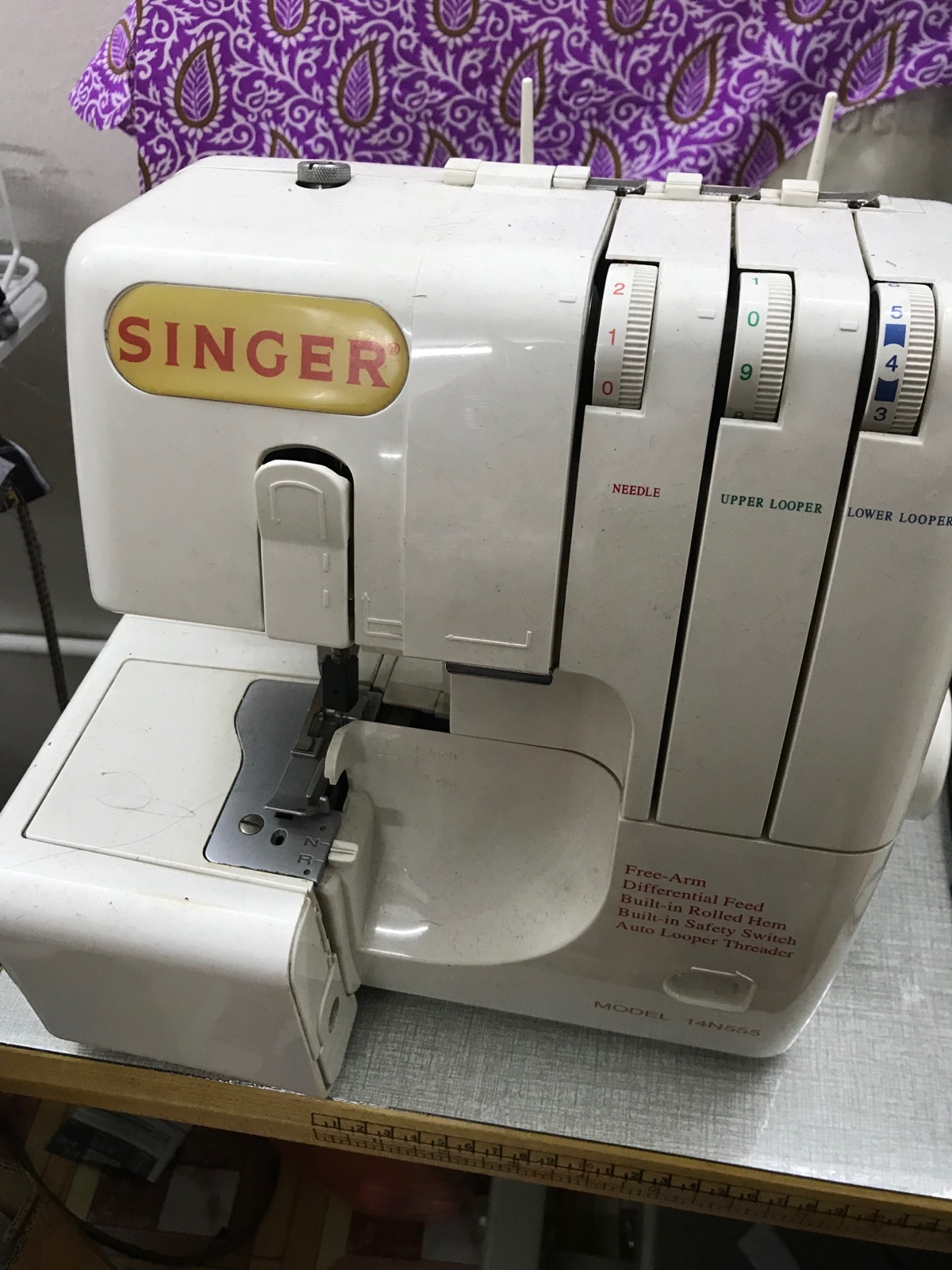 Repair Singer Portable Overlock Sewing Machine
