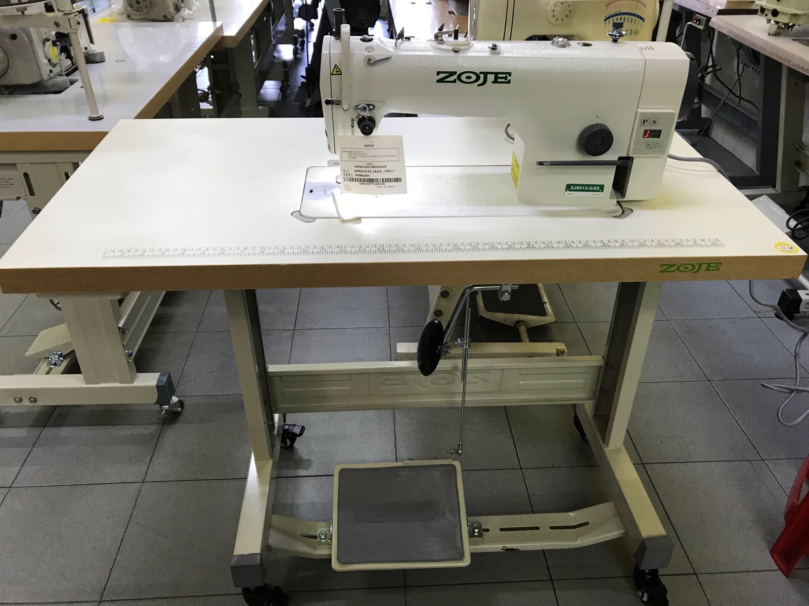 Zoje Auto Hi Speed Sewing Machine