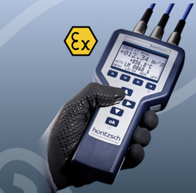 HANDHELD FLOWTHERM EX - IN COMBINATION WITH FLOW SENSORS VA,