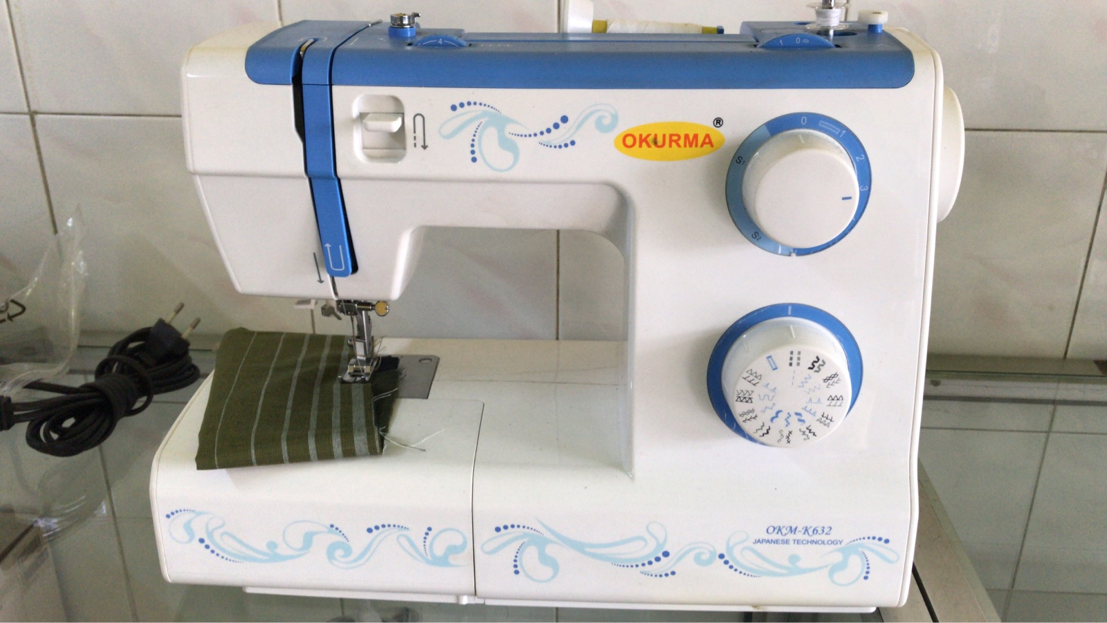 Okurma Portable Zie Zig Sewing Machine