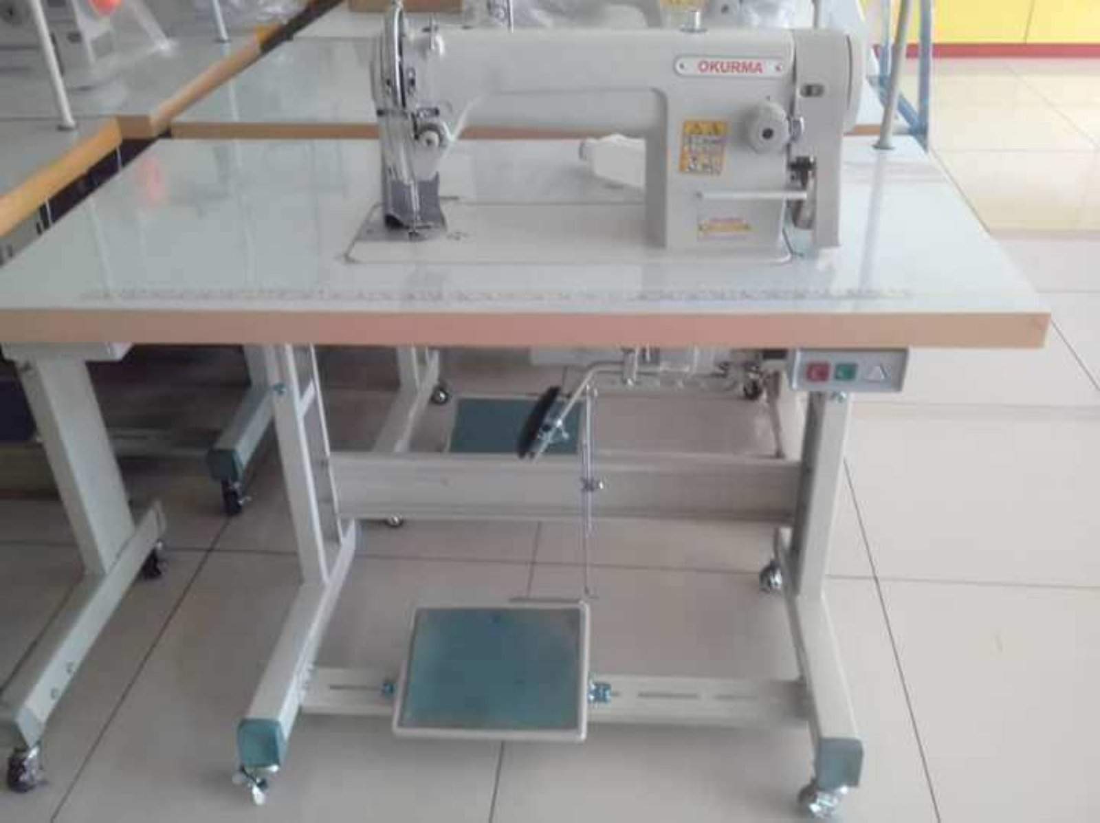 Okurma Hi Speed Cluth Motor Sewing Machine