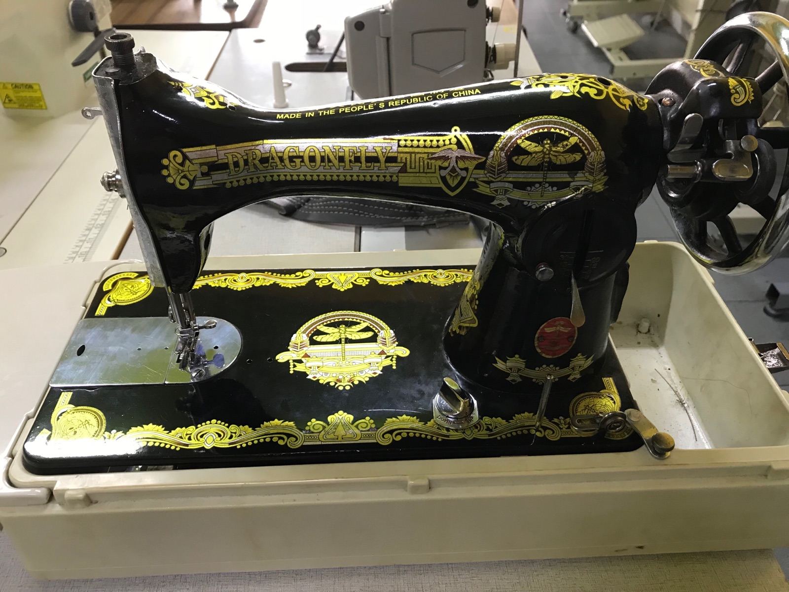 Second Hand Dragon Fly Anti Sewing Machine