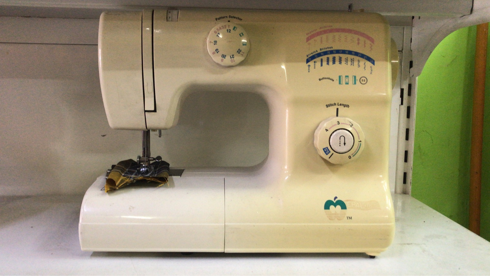 Apple Sewing Machine