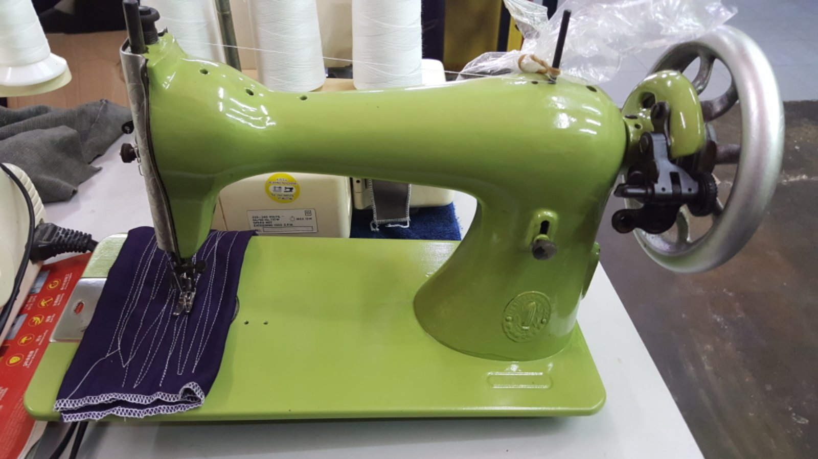 Spray and Repair Sewing Machine