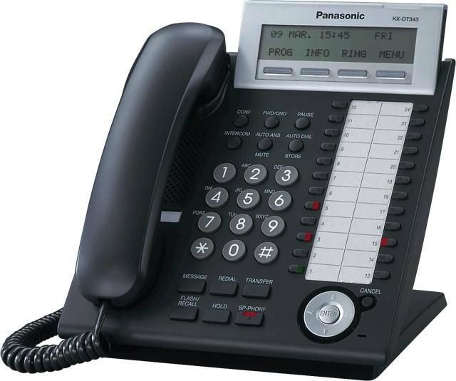 PANASONIC-DIGITAL PHONE-KX-DT343X