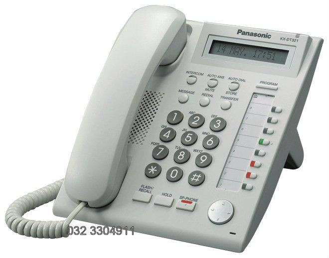 PANASONIC-DIGITAL PHONES-KX-DT321X