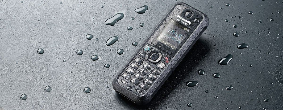 KX-TCA385.TOUGH AND DURABLE DECT HANDSET FOR EVERY ENVIRONME