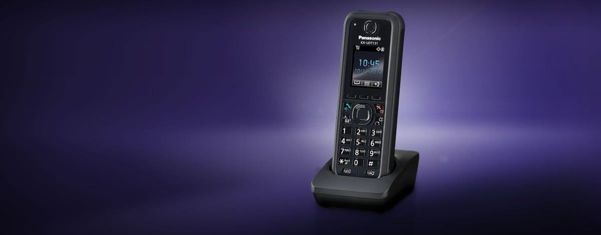 KX-UDT131.IP65 TOUGH DECT HANDSET