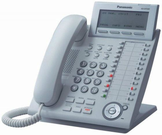 PANASONIC-DIGITAL PHONE-KX-DT346X