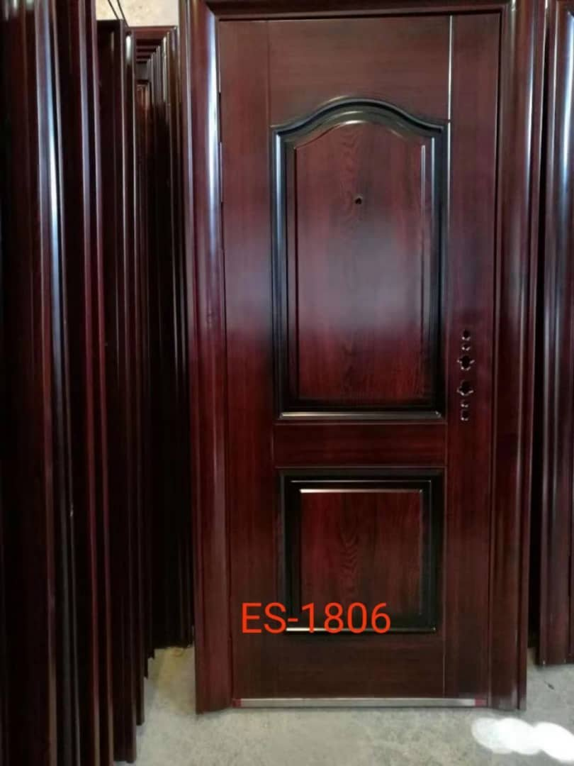 PVC METAL SAFETY DOOR