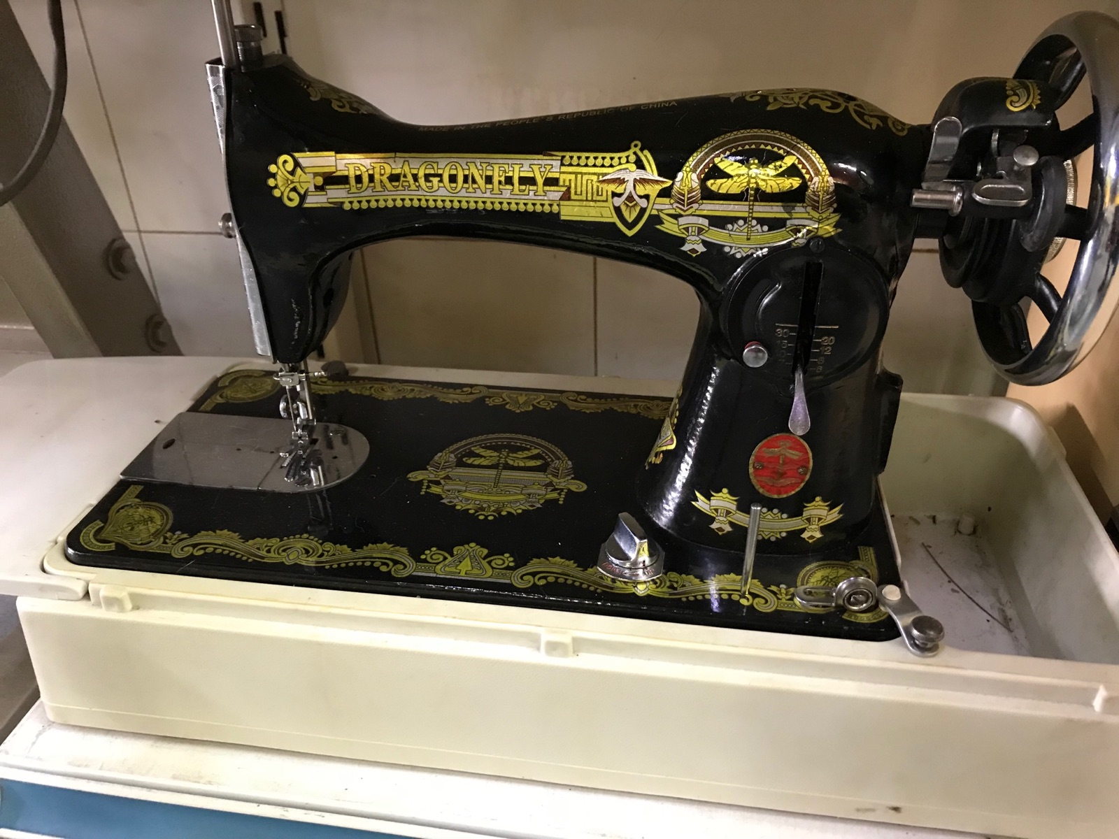 Dragonfly Anti Sewing Machine