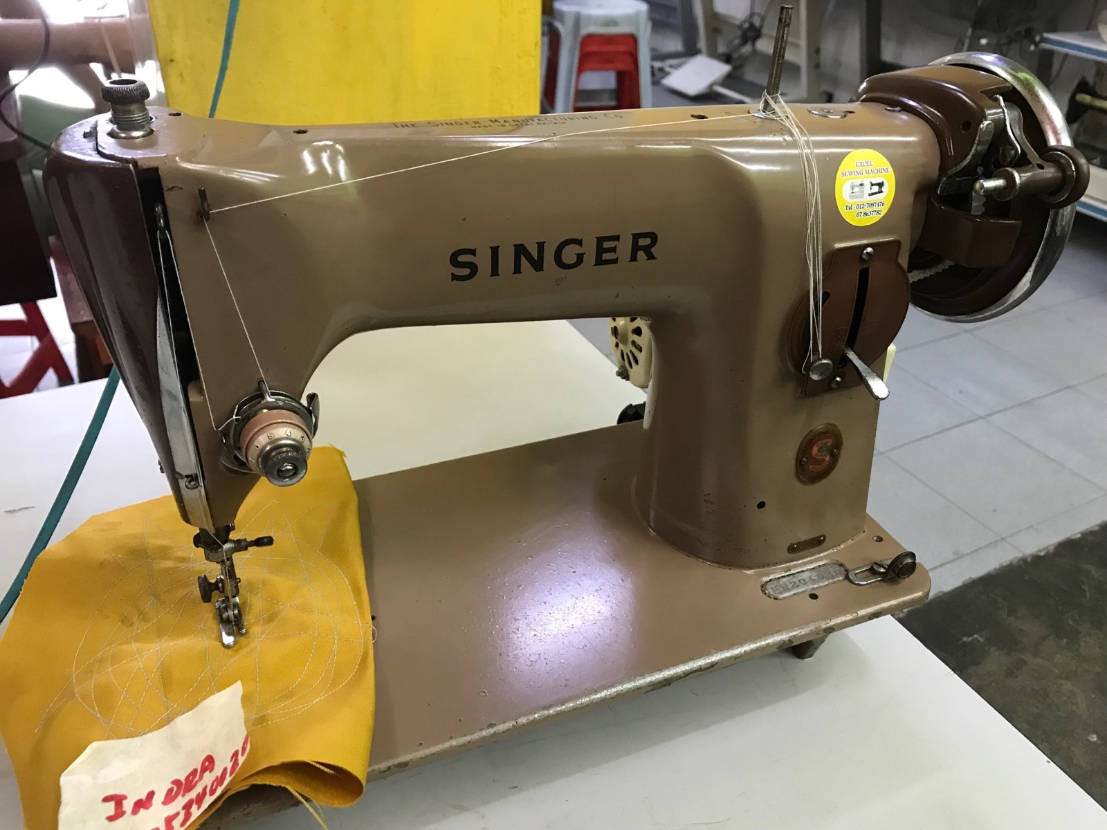 Repair Singer Sewing Machine