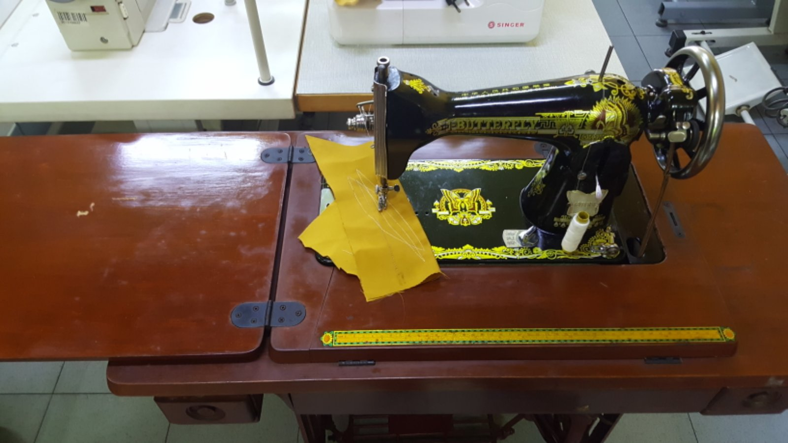 Second Hand Butterfly HA Sewing Machine