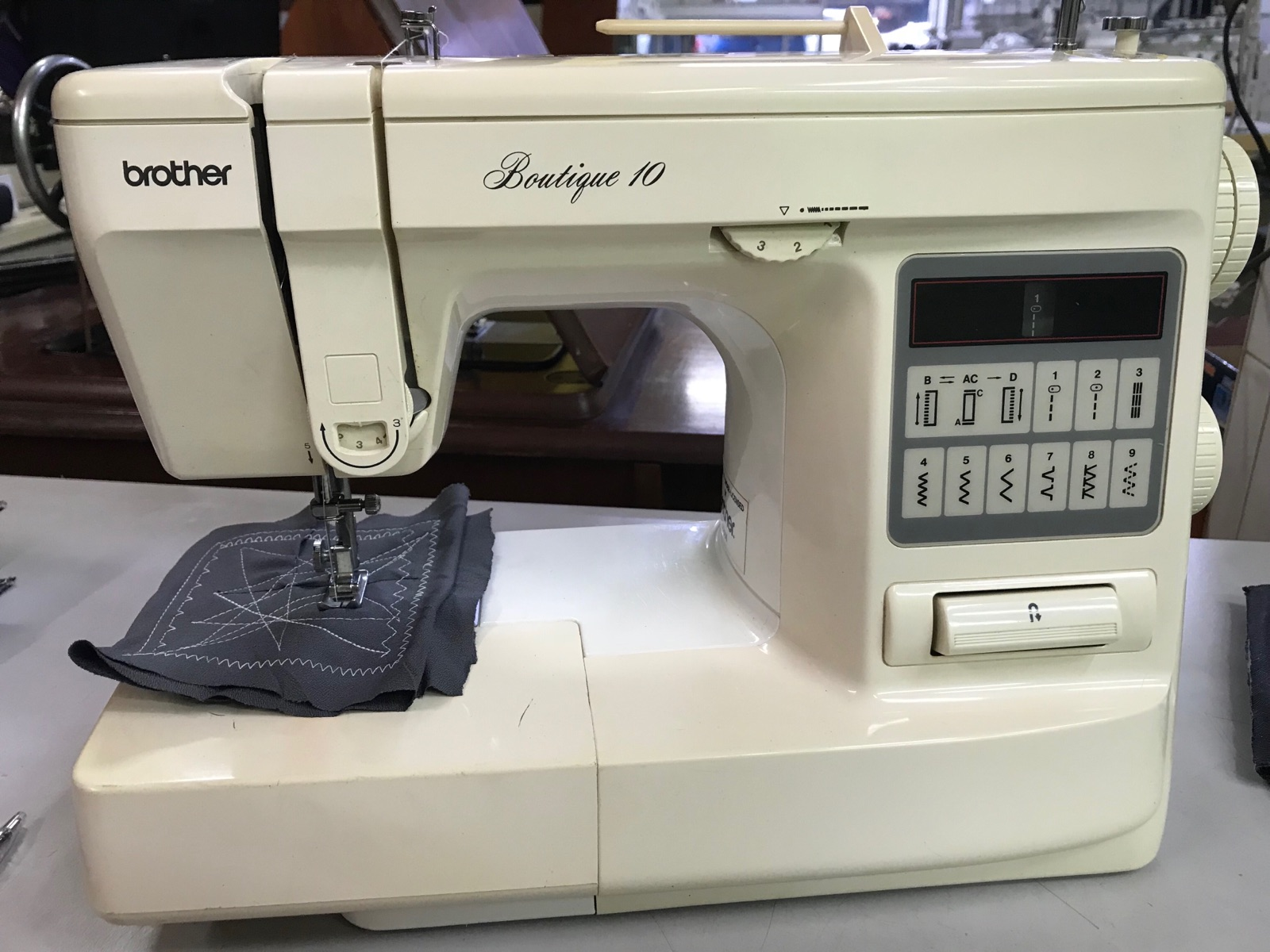 Brother Portable Zie Zig Sewing Machine