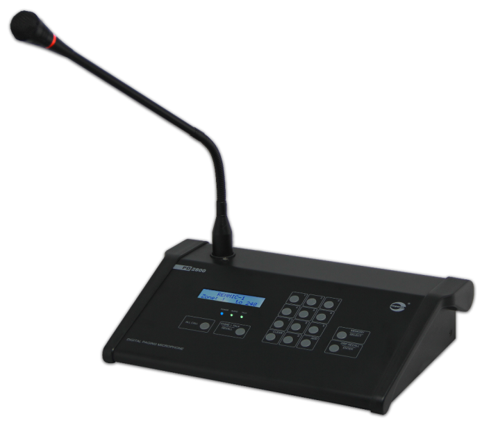 PD2800 [ DIGITAL PAGING MICROPHONE ]