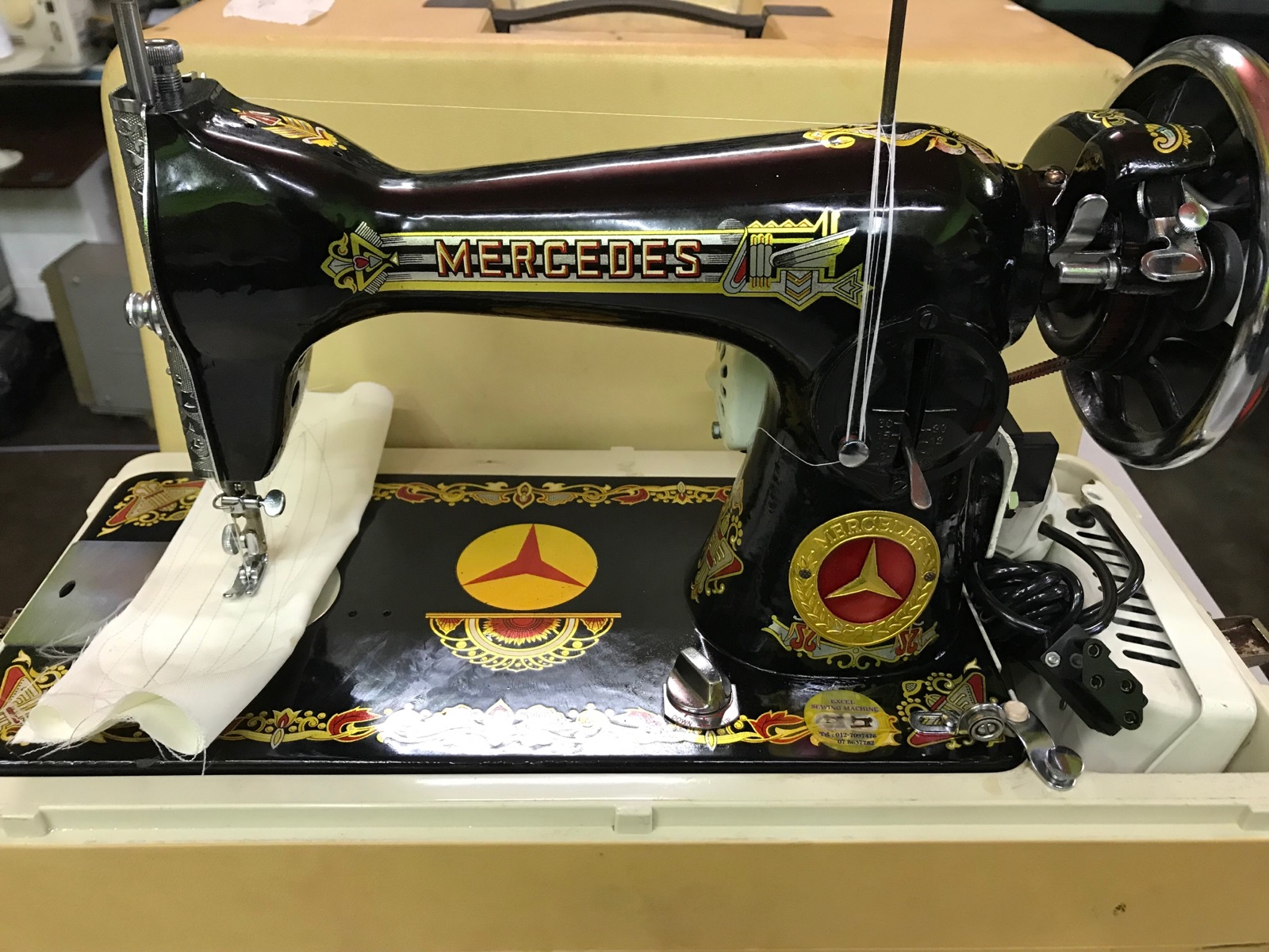 Mercedes Ha Anti Sewing Machine