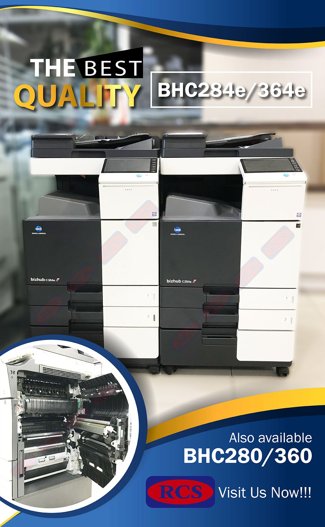 MINOLTA BHC284e/364e BHC280/360 NEW ARRIVAL!!XEROX/RICOH/CANON RECONDITIONED COPIER WHOLESALE