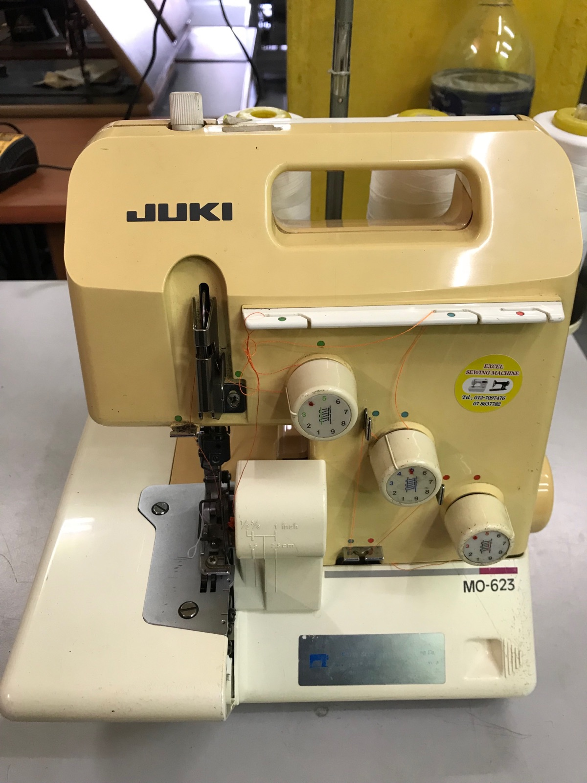 Repair Juki Portable Overlock Sewing Machine
