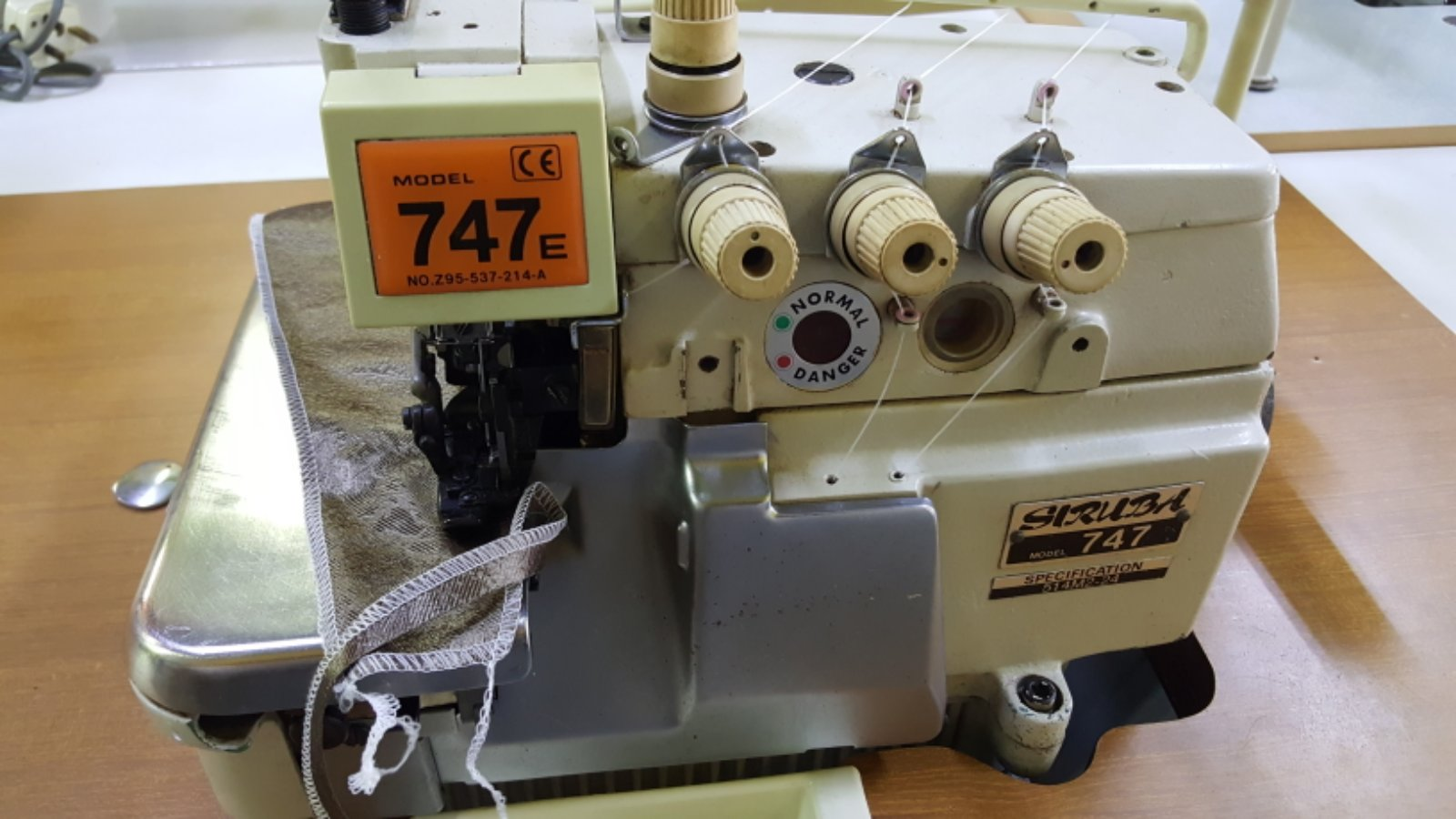 2nd Siruba Overlock Sewing Machine