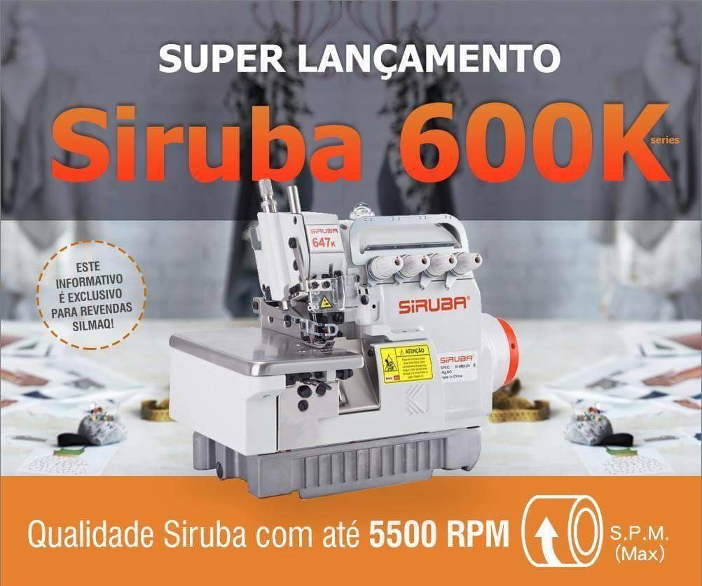 New Model Siruba Overlock Sewing Machine
