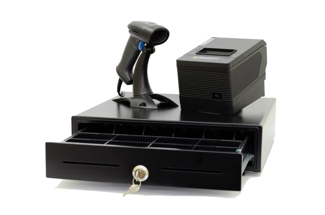 PACKAGE A: Pos system machine Cashier All business hardware