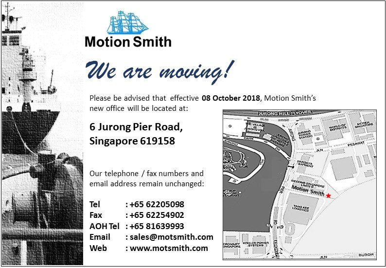 Motion Smith Relocation