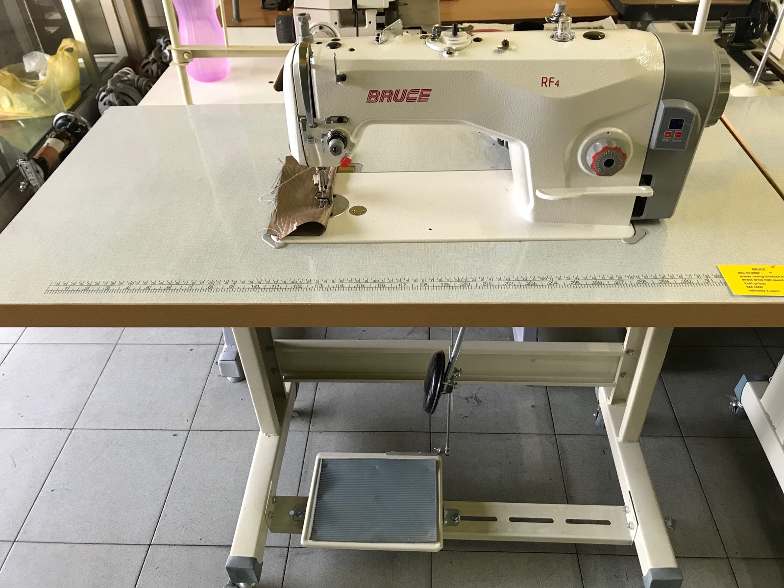 Bruce Hi Speed Direct Drive Motor Sewing Machine