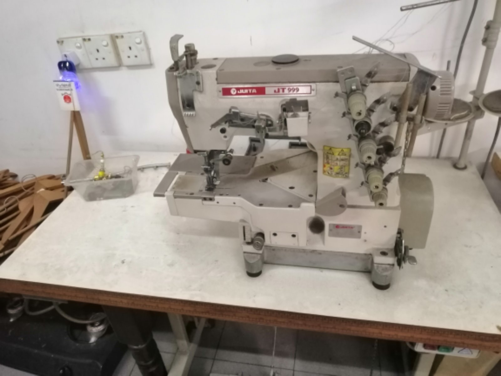 2nd Juita Interlock Coverstitch machine