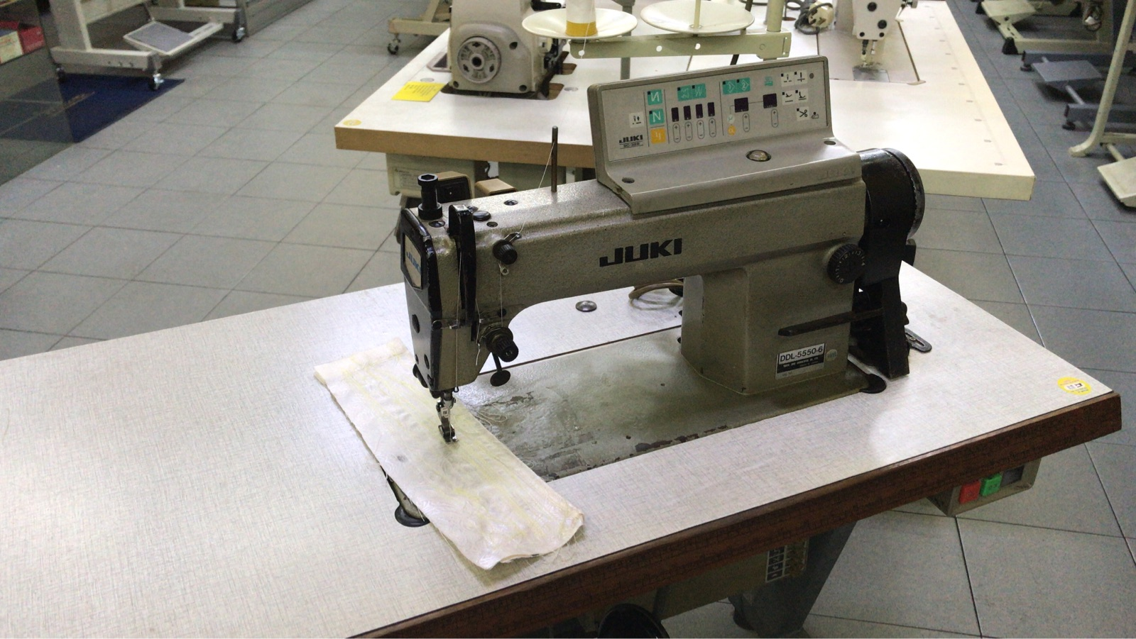 Second Hand Juki Hi Speed Automatik Sewing Machine