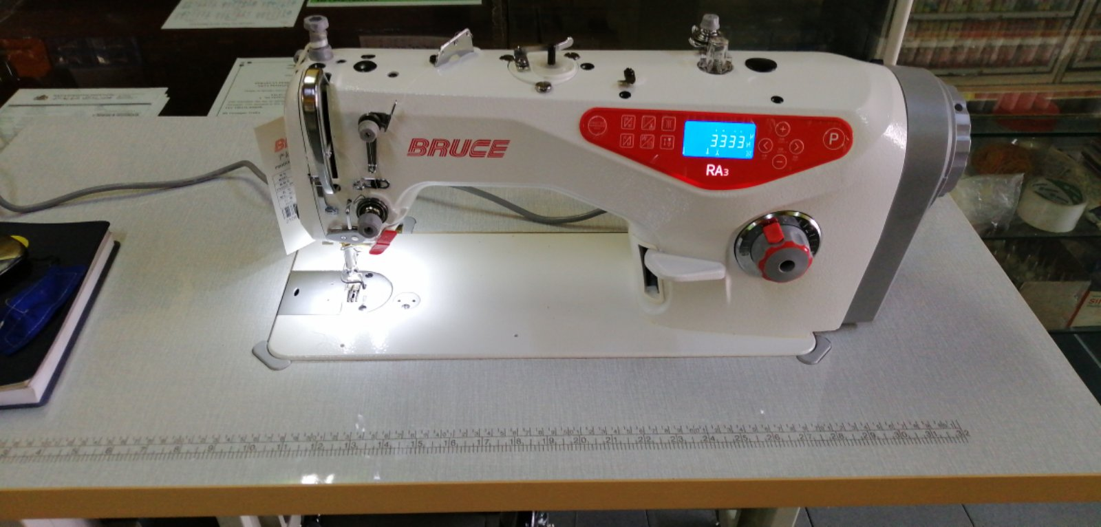 Bruce RA3 CQ Super Hi Speed Automatik Sewing Machine