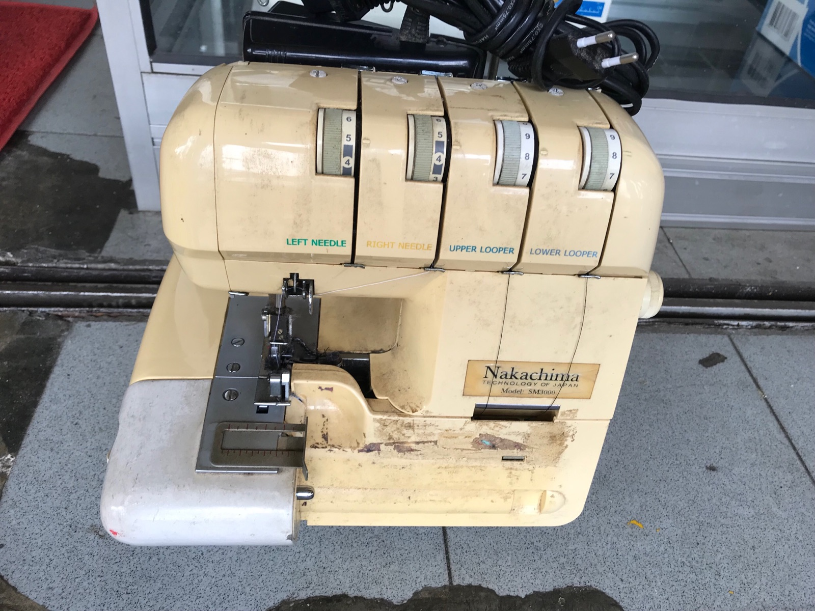Repair Nakachima Portable Overlock Sewing Machine
